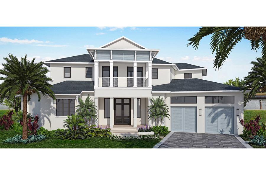Новая постройка для того Продажа на 424 River Ct Marco Island, Флорида,Соединенные Штаты